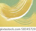 背景,日式,日式,日式,日式紙,金葉,波浪刷,綠色 58345720