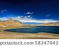 Lake Tso Moriri in Himalayas, Ladakh 58347043