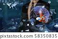 VR 5G AI 인공 지능 핀 테크 Fintech MaaS ICT 블록 체인 3D 58350835