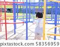 男孩(公园儿童生活日文日文复制空间肖像1岁2岁) 58356959
