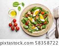 Healthy home made salad. 58358722