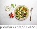 Healthy home made salad. 58358723