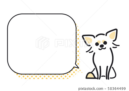 狗姿勢面部表情1氣球奇瓦瓦州 58364499