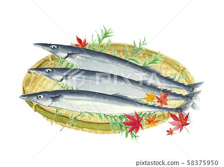 秋天的劍魚Sanma Hiba秋葉 58375950