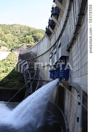 Yahagi Dam water discharge 58378508