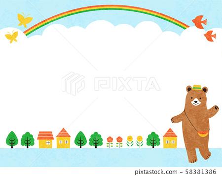 熊開始到鎮上 58381386