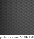 Abstract modern  geometric pattern in black color. 58382158