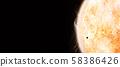 mercury and sun 58386426