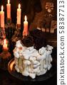 Creepy cake on Halloween 58387713