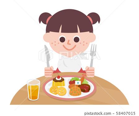 孩子的午餐 兒童 孩子 58407015
