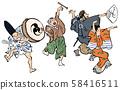Ukiyo-e Dance 58416511