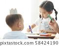 儿童生活画 58424190
