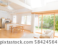 Living dining, living, home 58424564