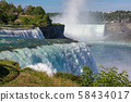 View of NIAGARA FALLS is beautiful and famous the 58434017