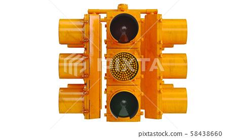 Traffic light stoplight 58438660