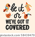 Be it that or this we have got it covered. Cute pet insurance and protection lettering composition 58439470