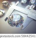 Giant Diamond Gem Wealth Luxury 58442541