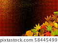 야경 낙엽 금박 58445499