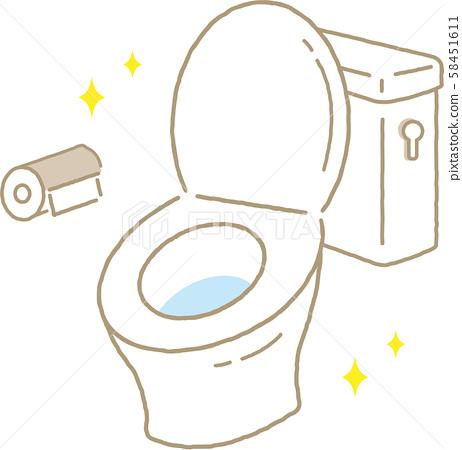 清潔廁所 58451611