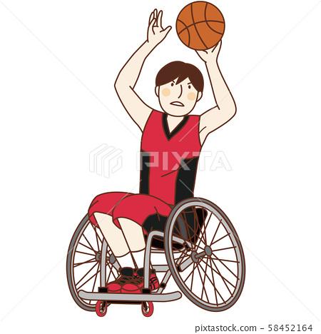 殘奧會籃球 58452164