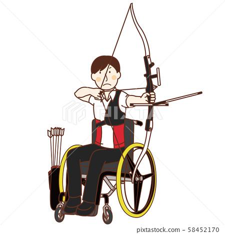장애인 올림픽에서 양궁 58452170