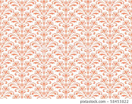Flower geometric pattern. Seamless vector 58453822