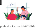Medical tests illustration - EEG 58470066