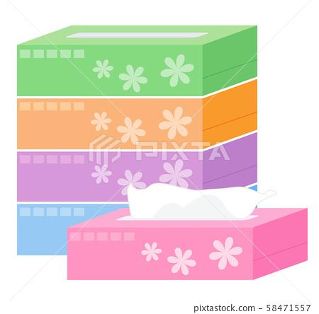 盒子組織 58471557