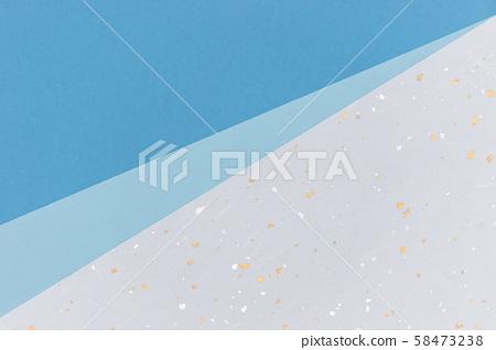 背景圖像・藍色和紙3張・ 1張 58473238