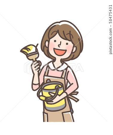 DIY 소녀 홈 센터 등으로 58475431