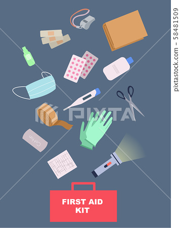 First Aid Kit Illustration 58481509