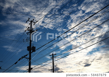電話和天空 58487879