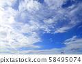 禦台場秋天的天空圖像(照片) 58495074