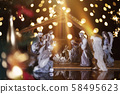 Christmas nativity scene; Jesus Christ, Mary and 58495623