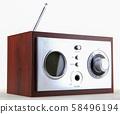 retro radio 58496194