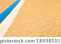 Sea sand background 58498501