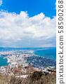 [Hokkaido] Hakodate cityscape 58500268
