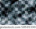 수화 무늬 체크 무늬 질감 배경 검정 58505390