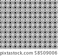 Abstract seamless geometric pattern background, 58509006