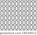 Abstract seamless geometric pattern background, 58509012