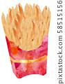 炸薯條 58515156