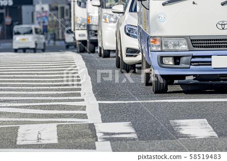 Osaka city traffic image 58519483