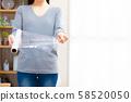 散布的妇女 58520050