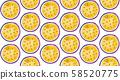 百香果切塊連續排列模式,百香果,cent,百香感冒 58520775