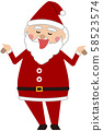 圣诞圣诞老人唱歌 58523574