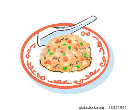 Fried rice 58523933