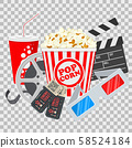 Cinema and Movie Banner 58524184