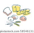 各種麵包 58546131
