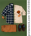 Kids autumn apparel. 58546986