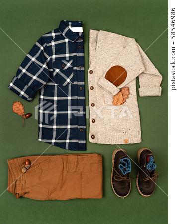 Kids autumn apparel. 58546986